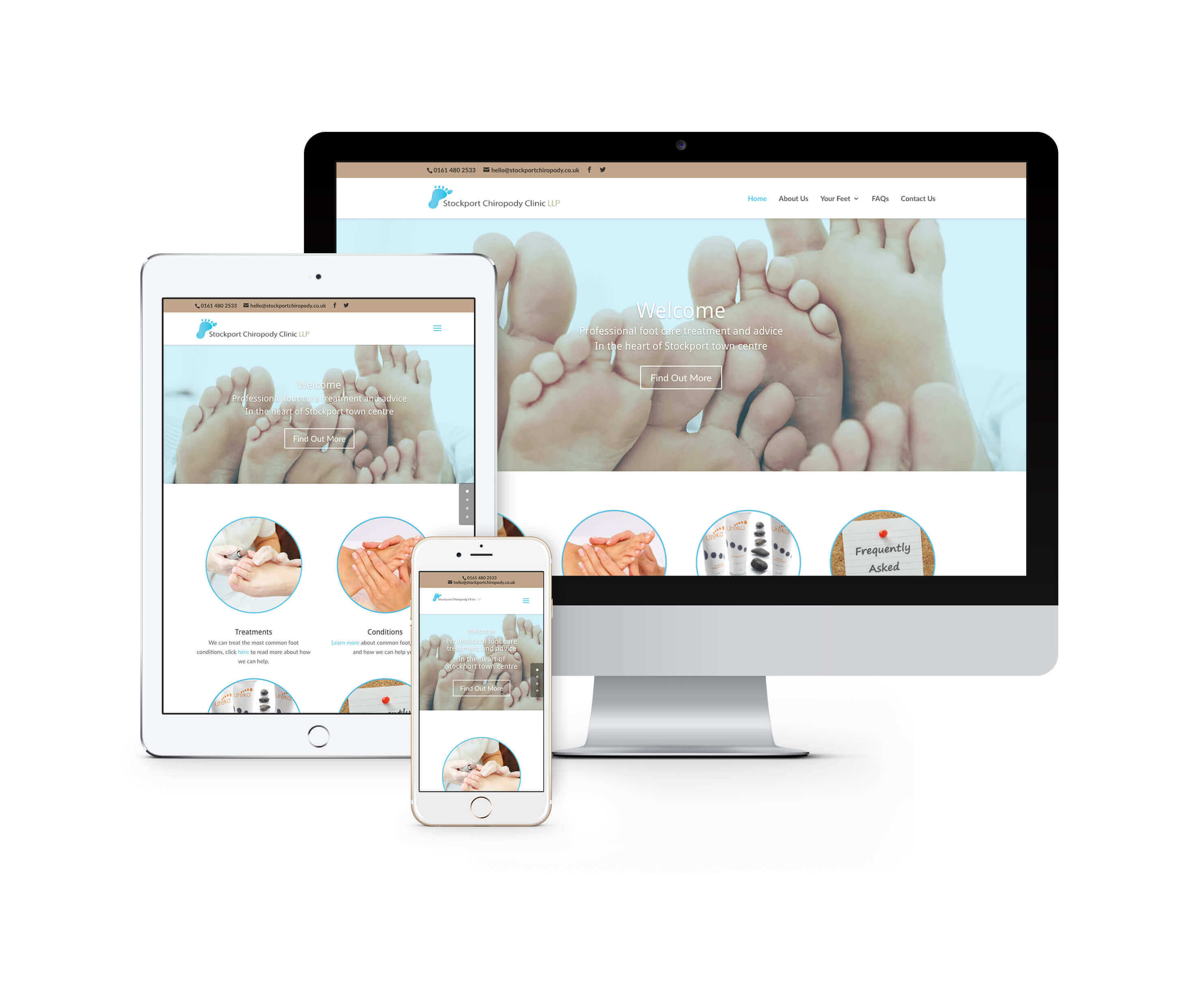 Stockport Chiropody Web