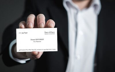 7 habits of highly effective business cards